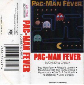 Pac-Man Fever Cassette Tape Cover