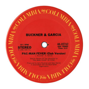 Pac-Man Fever Columbia Single Side A