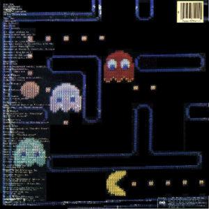 Pac-Man Fever Vinyl LP Cover Back