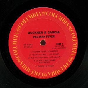 Pac-Man Fever Vinyl LP Record Side 1
