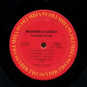 Pac-Man Fever Vinyl LP Record Side 2
