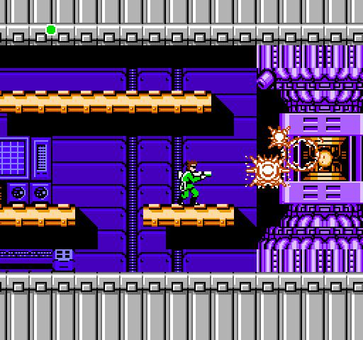 Bionic Commando - Destroying Reactor