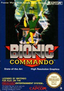 Bionic Commando European Box