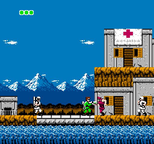 Bionic Commando - Outside