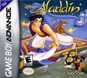 Disney's Aladdin Game Boy Advance Box