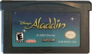 Disney's Aladdin Game Boy Advance Cartridge