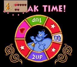 Disney's Aladdin SNES - Bonus Game