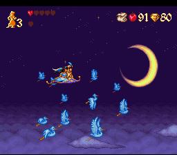 Disney's Aladdin SNES - Carpet Ride