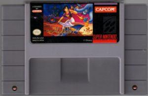 Disney's Aladdin SNES Cartridge