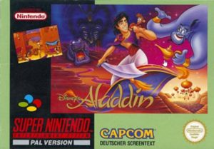 Disney's Aladdin SNES European Box