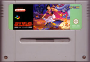 Disney's Aladdin SNES European Cartridge