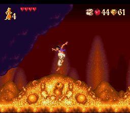 Disney's Aladdin SNES - Gold