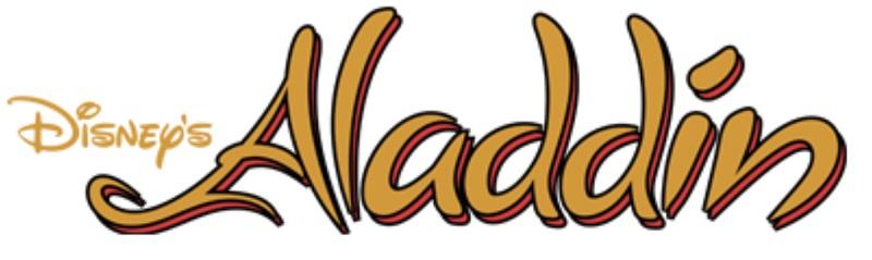 Disney's Aladdin SNES Logo