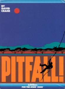 Pitfall Atari 5200 Box