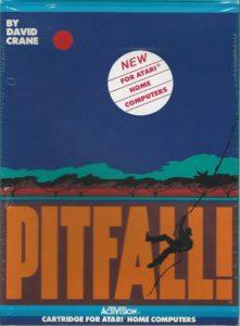 Pitfall Atari 8-bit Box