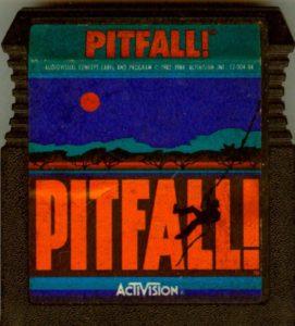 Pitfall Atari 8-bit Cartridge
