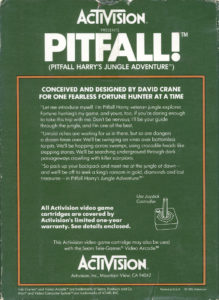 Pitfall Box Back