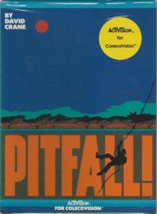 Pitfall ColecoVision Box