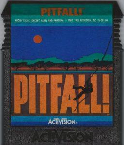 Pitfall ColecoVision Cartridge