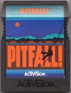 Pitfall Commodore 64 Cartridge