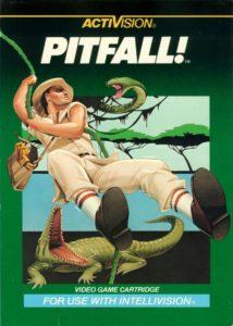 Pitfall Intellivision Box