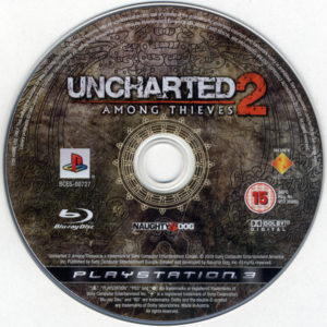 Uncharted 2 - Among Thieves European Disc