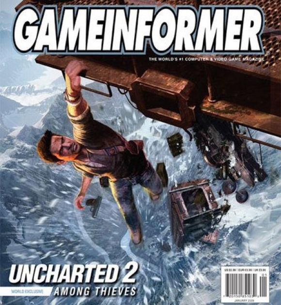 Uncharted 2 - Among Thieves Gameinformer Cover