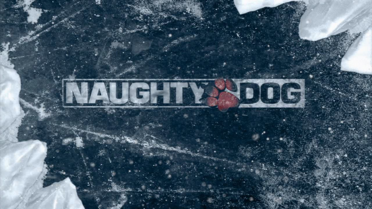 Uncharted 2 - Among Thieves - Snowy Naughty Dog Logo