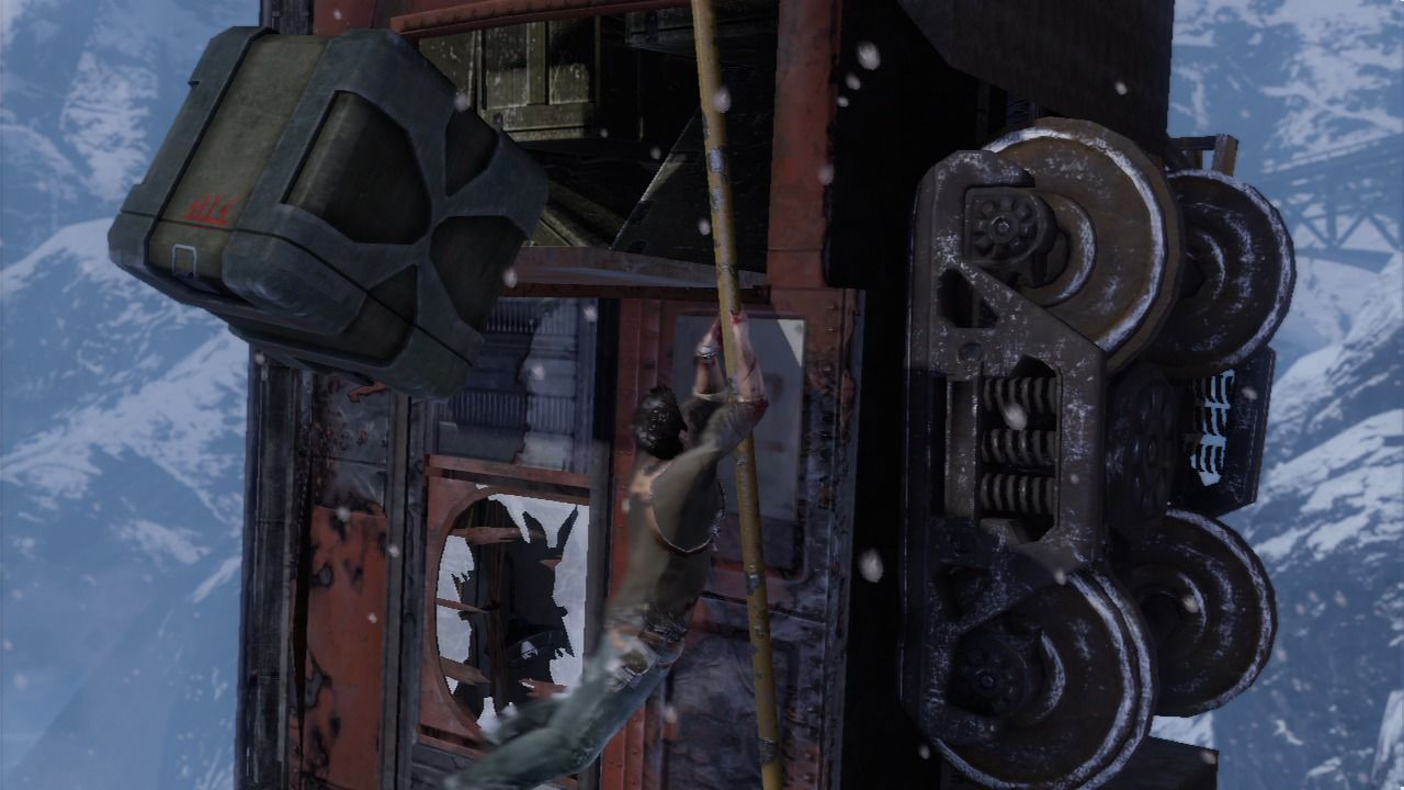 Uncharted 2 - Among Thieves - Train Escape
