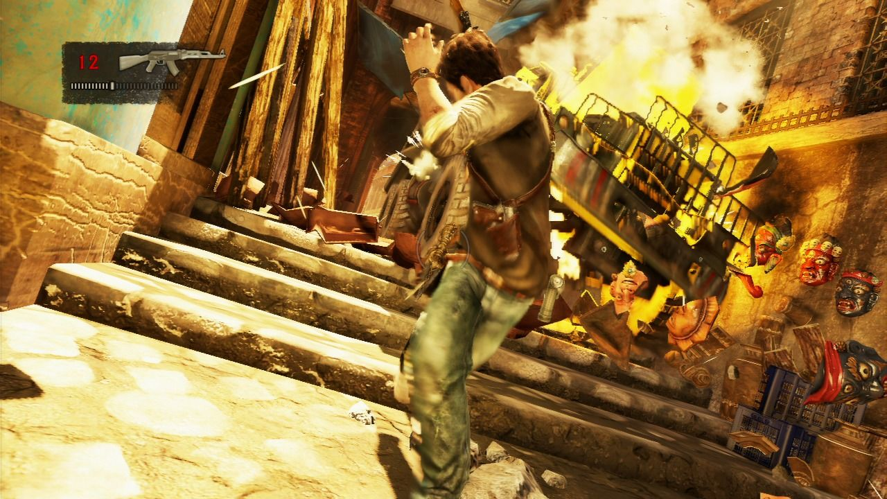 Uncharted 2 - Among Thieves - Truck Chase