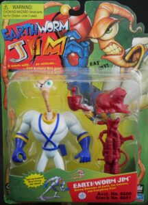 Earthworm Jim Action Figure Box