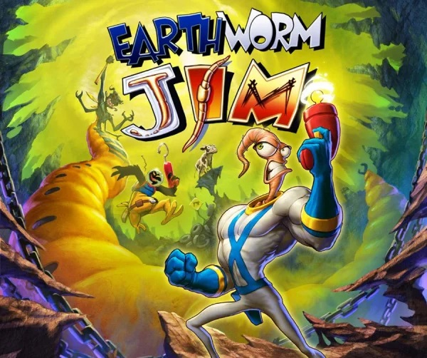 Earthworm Jim Banner