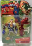 Earthworm Jim Battle Damage Action Figure Box