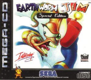 Earthworm Jim Mega CD Box