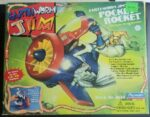 Earthworm Jim Pocket Rocket Vehicle Box