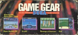 Game Gear Box Side