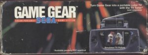 Game Gear Box Top