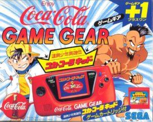 Game Gear Coca Cola Japanese Box