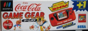 Game Gear Coca Cola Japanese Box Top