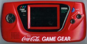 Game Gear Console - Japanese Coca Cola
