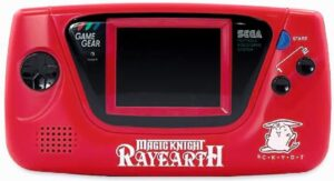 Game Gear Console - Japanese Magic Knight Rayearth
