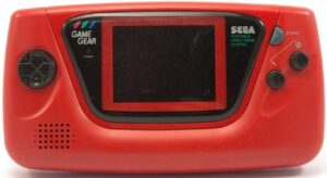 Game Gear Console - Japanese Red