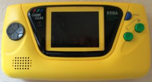Game Gear Console - Japanese Yellow