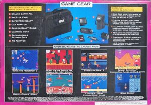 Game Gear Core System Box Back