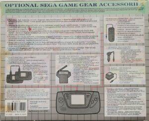 Game Gear European Box Back