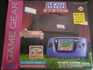 Game Gear Sports Box