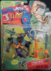 Henchrat and Evil The Cat Action Figure Box