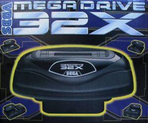 Mega Drive 32X Box