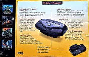 Sega 32X Box Back