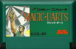 Magic Darts Famicom Cartridge